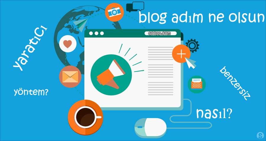 Blog isim önerileri