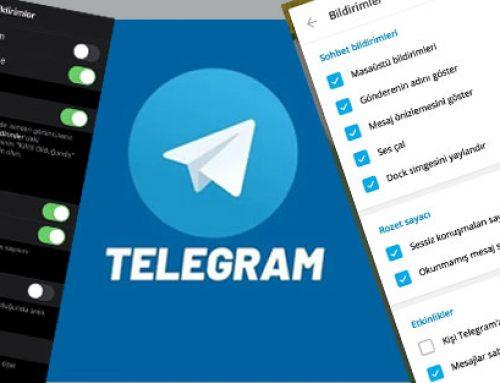 Kişi Telegram'a Katıldı Bildirimi Nasıl Kapatılır